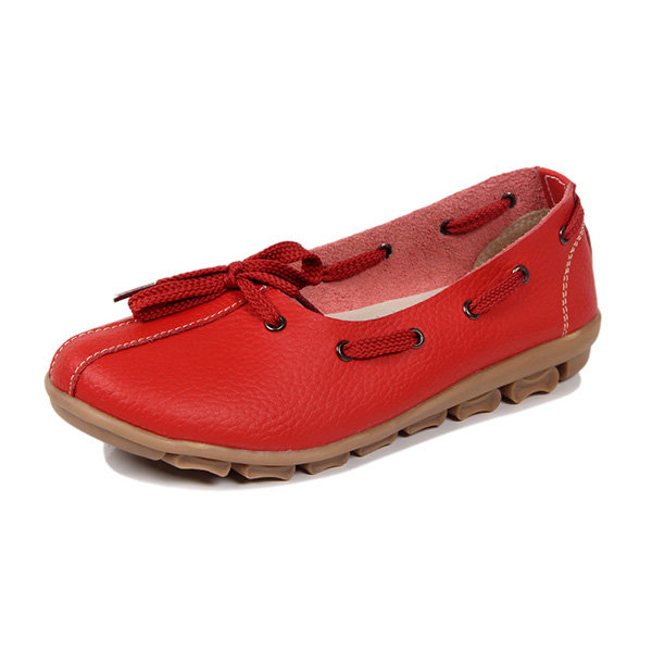 Bowknot Casual Flat Loafers Online